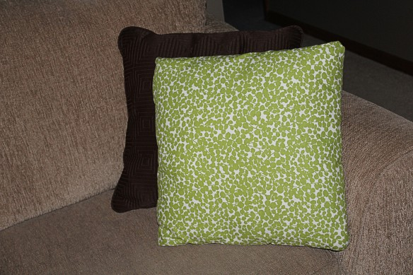 Original throw pillows