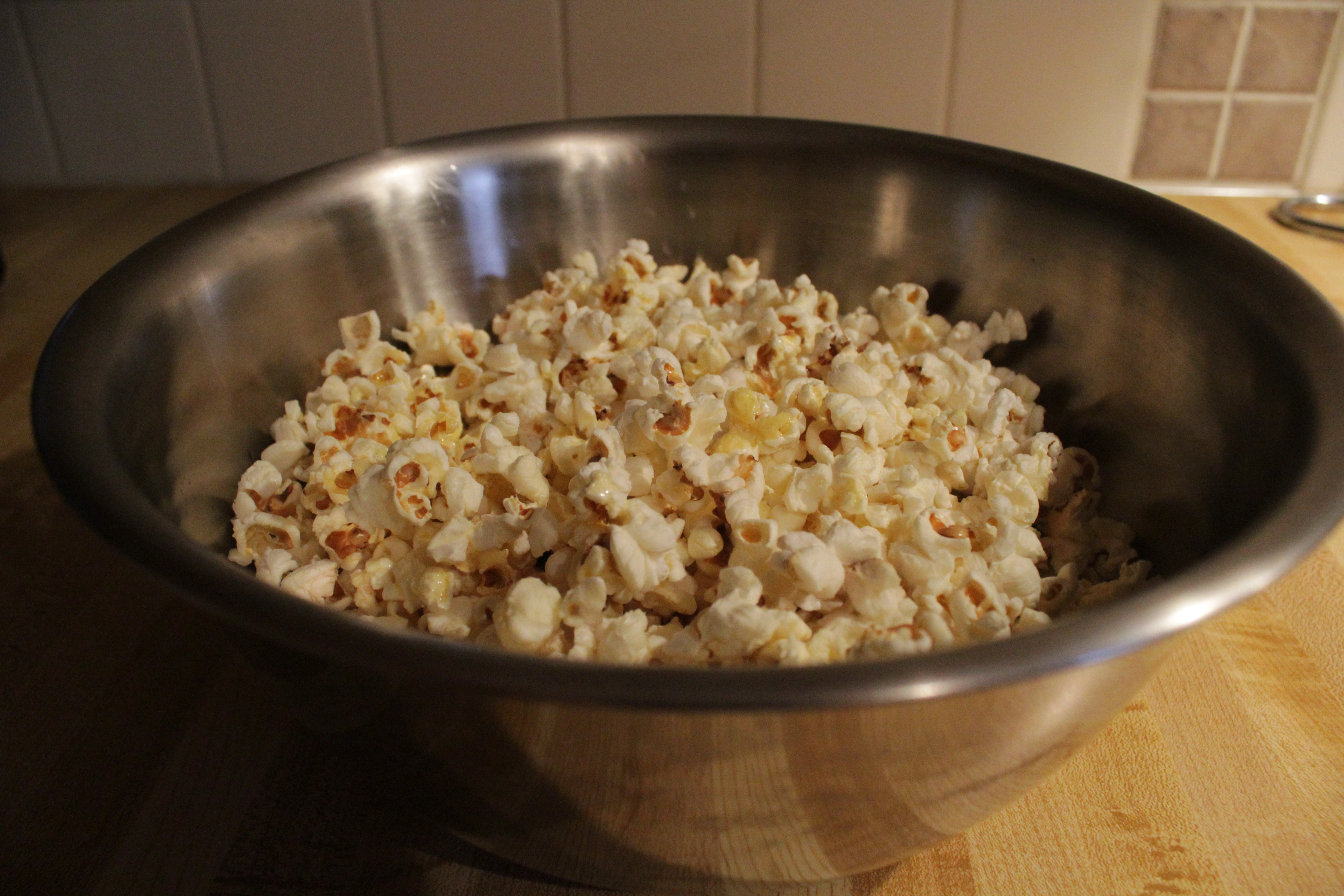 How To Make Pop Corn From Corn At Home
