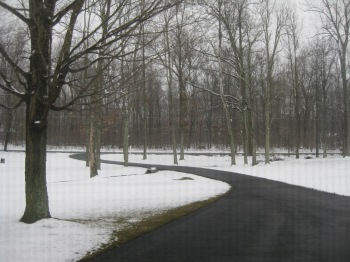 March 25, 2013.  Snow.  Enough said.